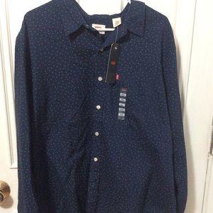 Men's Levis Classic 1 Pocket Button Down Shirt